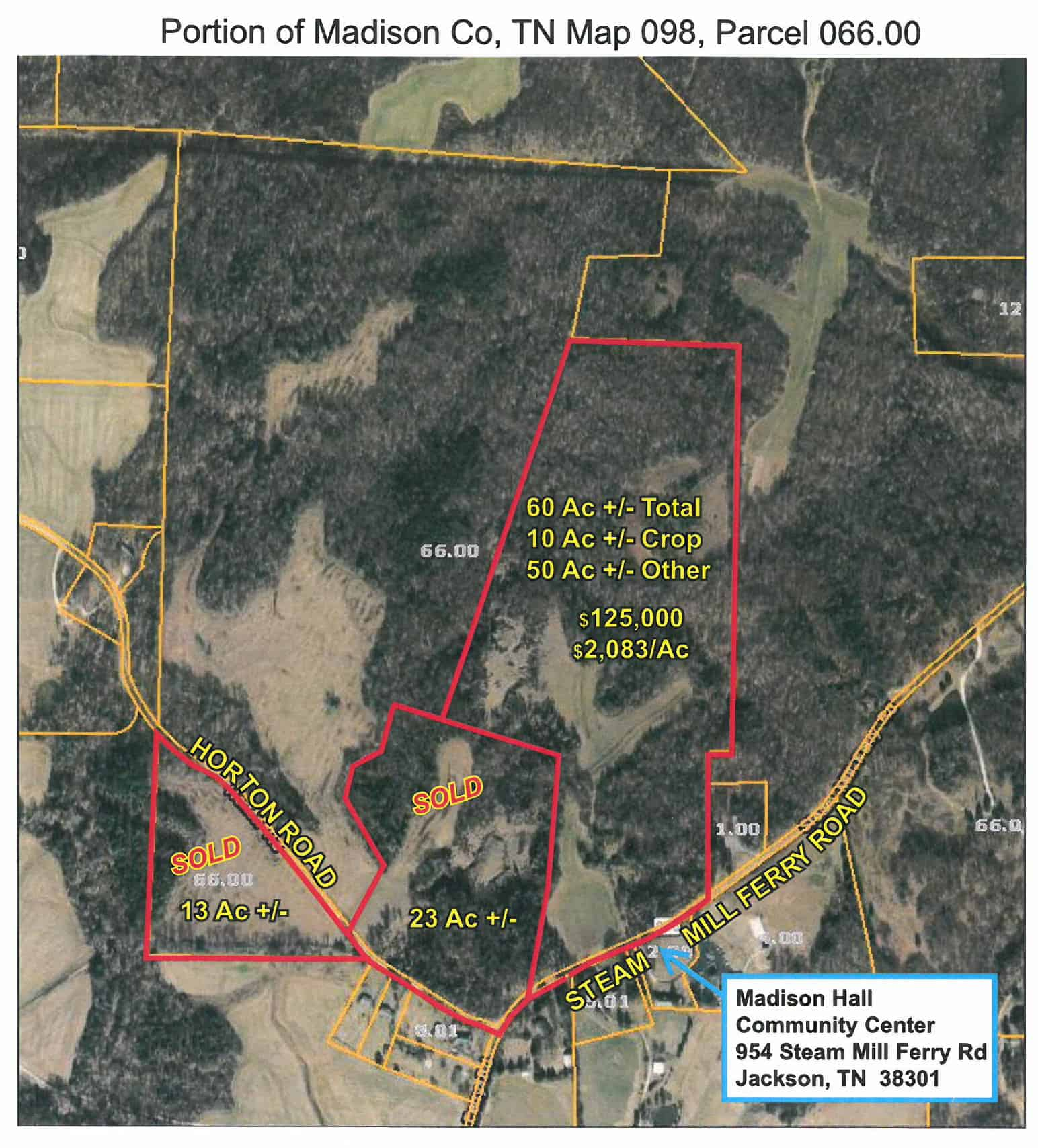 Steam Mill Ferry Road – 60+/- Acres