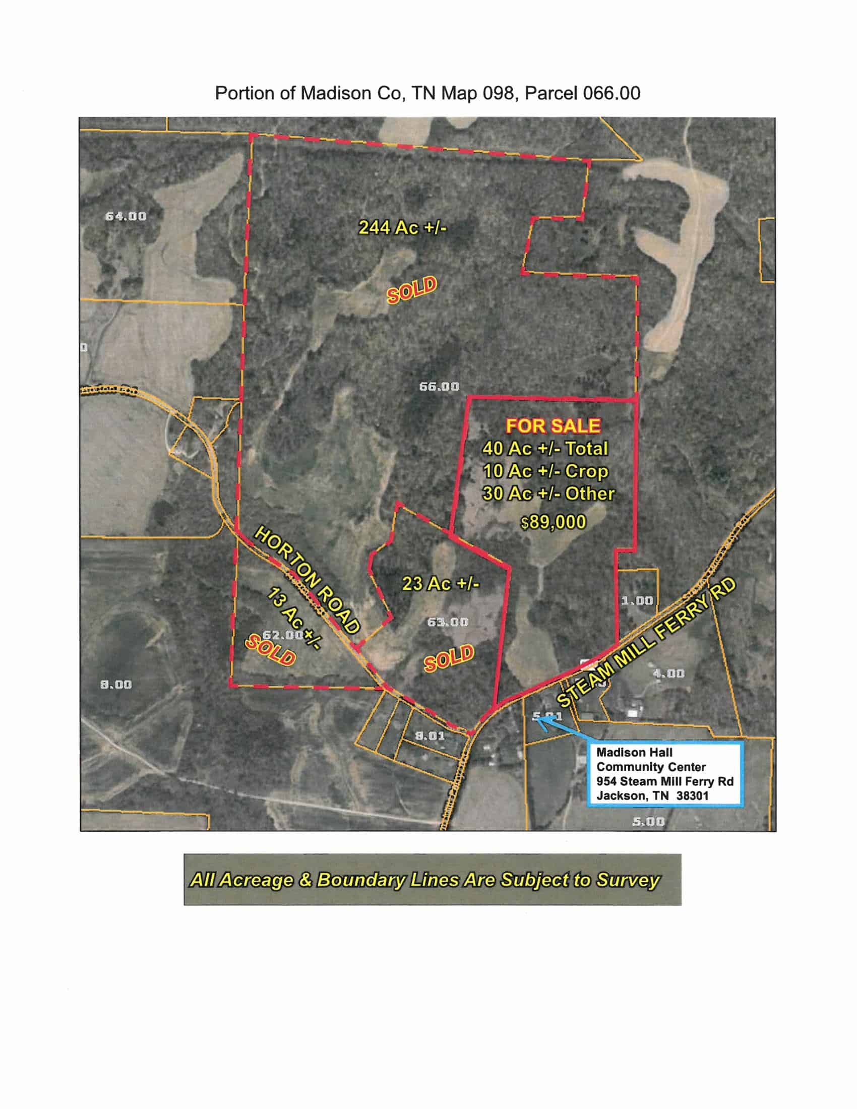 Steam Mill Ferry Road – 31.78 Acres
