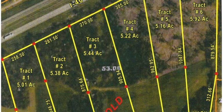Upper Browns Church Rd - aerial 7-20-20